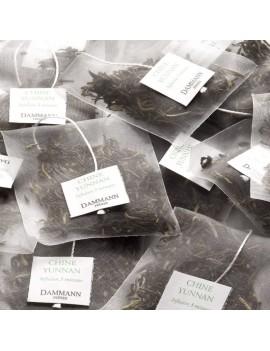 YUNNAN VERT - Boite de 25 sachets cristal la brûlerie le Puy en Velay