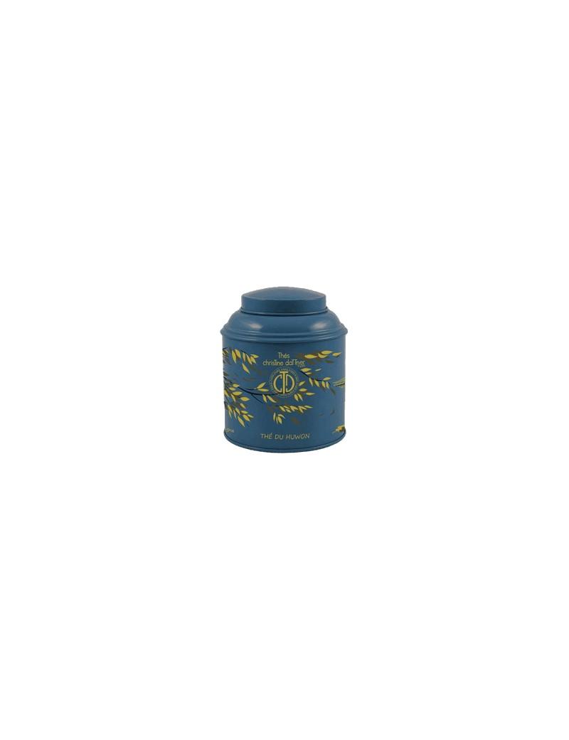 Boîte laquée de 100 grs - THE DU HUWON la brûlerie le Puy en Velay