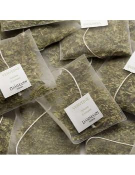 VERVEINE - Boite de 25 sachets cristal la brûlerie le Puy en Velay
