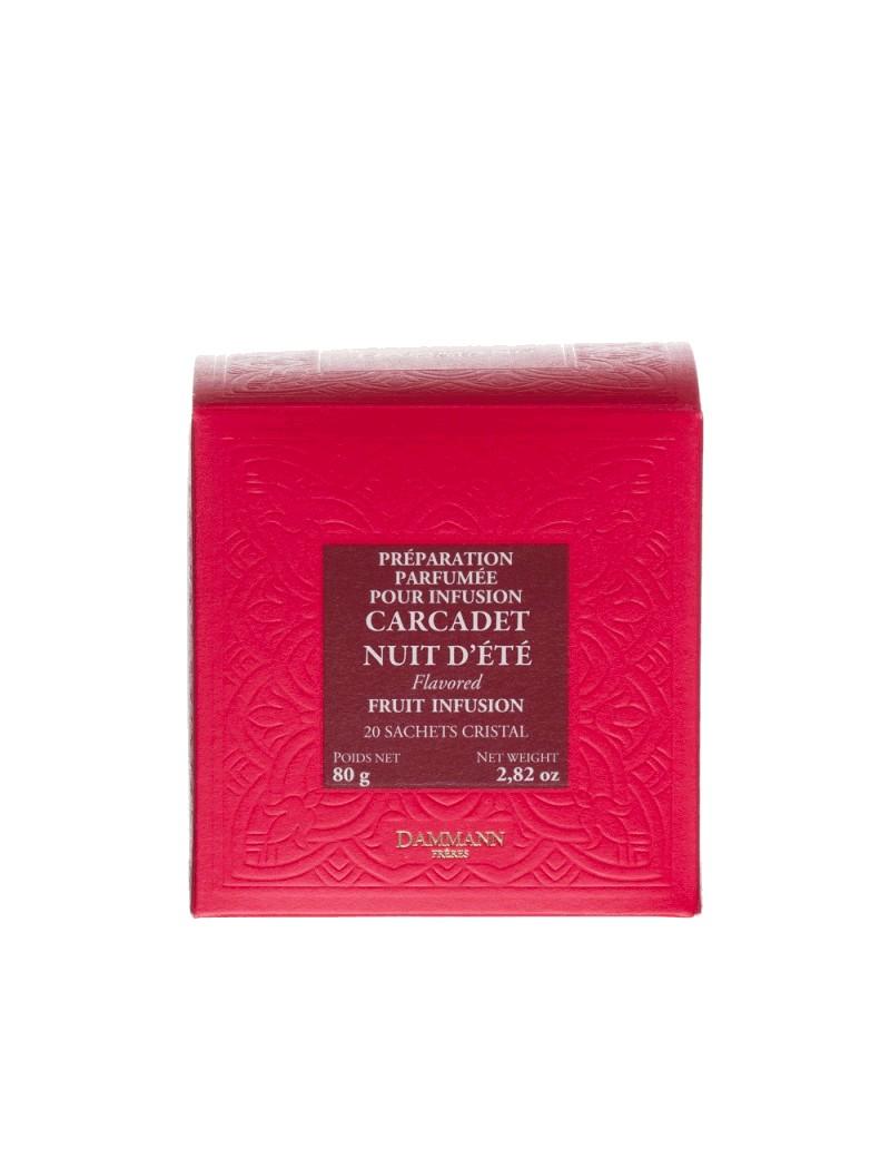 NUIT D'ETE -Boîte de 20 sachets cristal la brûlerie le Puy en Velay