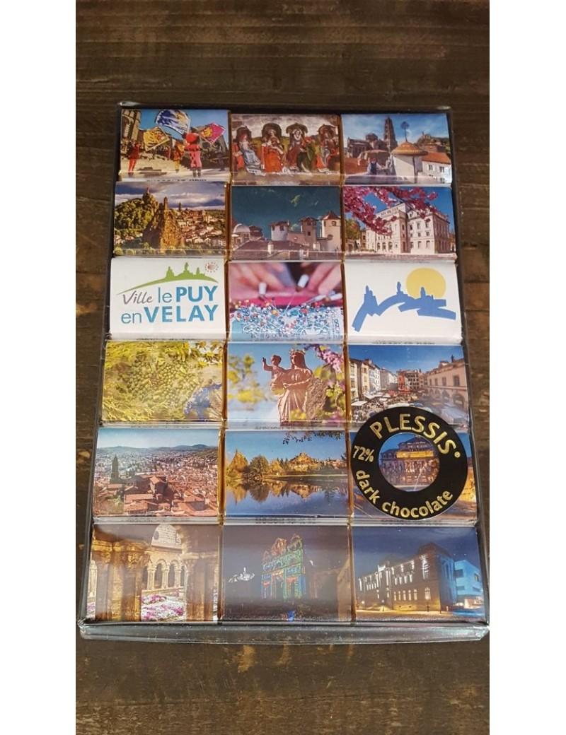 Boîte de 18 Napolitains Le Puy en Velay la brûlerie le Puy en Velay