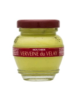 Moutarde à la Verveine du Velay la brûlerie le Puy en Velay