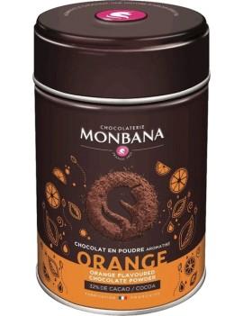 Chocolat en poudre aromatisé Orange - Boîte 250g la brûlerie le Puy en Velay