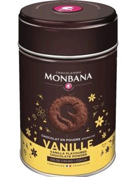 Chocolat en poudre aromatisé Vanille - Boîte 250g la brûlerie le Puy en Velay